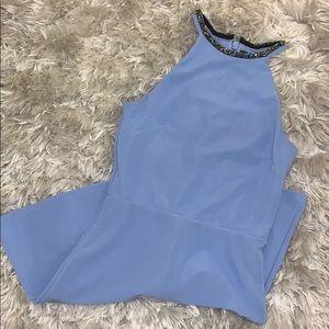 Blue Topshop Mini Dress